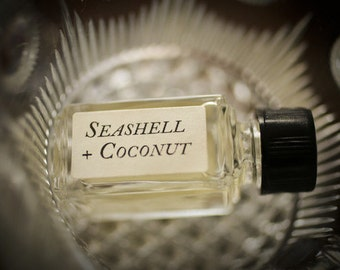 Seashell + Coconut™ - Strange Companion Blend™ - Natural Perfume Oil with tropical, summer, beach scent