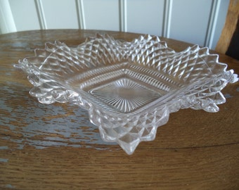 Vintage Glass Dish