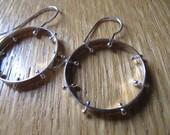 Bobble Earrings in Sterling Silver