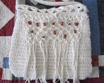 Bojo Crochet and Macrame Purse