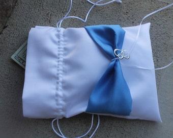 Wedding Money Bag, Bridal Dance, Makeup Bag, Wedding Dance, Double Heat, Satin Bag, Dollar Dance Wedding Bag, Drawstring Bag, Custom Colors