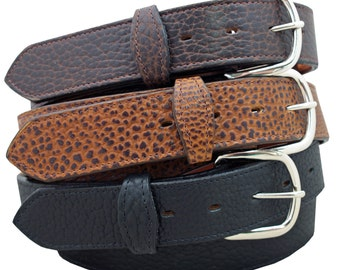 "1 1/2"" American Buffalo Leather Belt"