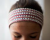 Patriotic- Little Stars Head Wrap