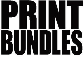 Bundle Package Prints  - (2) 8.5 x 11