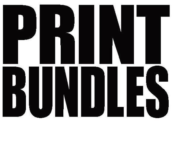 Bundle Package Prints  - (2) 8.5 x 11