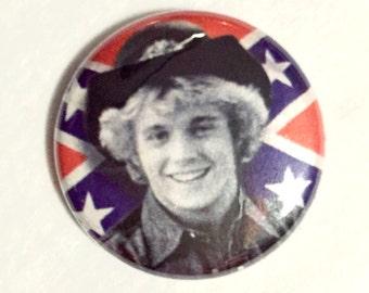 Bo Duke. The Dukes of Hazzard pinback button by Kymm! Bang