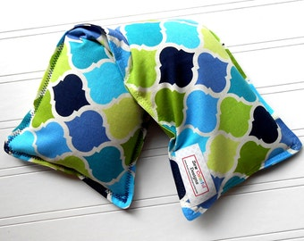 Flax Seed Heating Pad | Microwave hot pack & freezer ice pack, 4 Sizes Available - Prepster