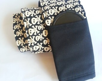 Skulls w/Lens Cap Pocket - Padded Camera Strap Cover - FREE SHIPPING