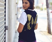 SALE boho clothing // womens tshirt // yoga top