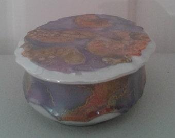 Handpainted Trinket Box