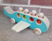 Redesigned Wooden Toy Airplane