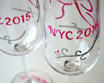 Wedding Dress Crew Shopping Elegant Decorative Sliver and Bright Pink Celebration Party Favor Wine Champange Bridesmaid Wedding Glasses