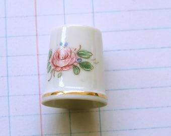 Vintage Porcelain thimble