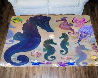 Seahorse Plush Etsy