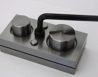 Jumbo Pro Quality Disc Cutter With 2 Punches 1 3/4 And 1 3/8 Inch SALE