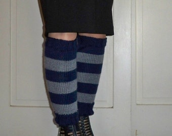 Leg Warmers in Ravenclaw Colors