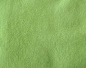 Celery Green Hand Dyed Felted Wool Fabric - Hand Dyed - - 100% Wool