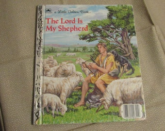 Little Golden Book-The Lord is My Shepherd