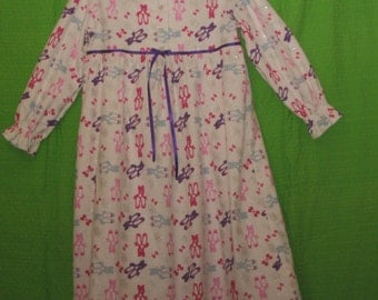 Coloured Ballet Shoes Nightie size 6