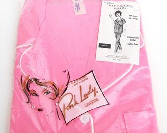 Pink Lady Lingerie Pajamas Dead Stock NIP