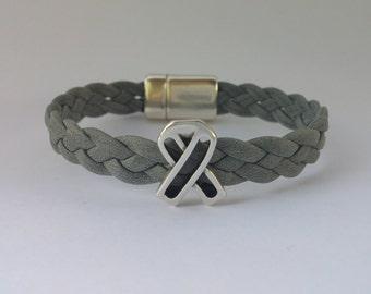 Brain Cancer Awareness Bracelet