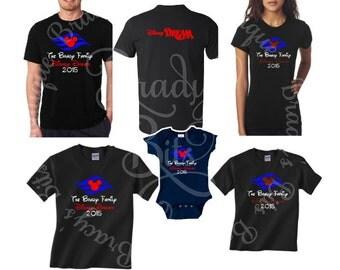 Matching Family Cruise T-Shirts PERSONALIZED - Adult