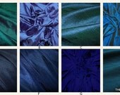 Luxurious Dupioni Silk Custom Pillow Covers Made from the Finest Pure Hand Made Dupioni Silk - Blue