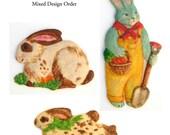Six Bunnies, Custom Mixed Order