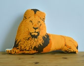 Plush Lion Pillow