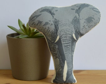 Silkscreen Elephant Toy