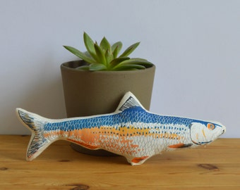 SALE - Silkscreen Fish