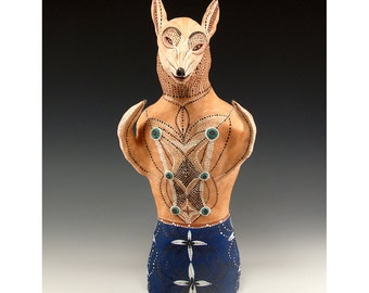 Jenny Mendes - Your Best Friend - Jenny Mendes Dog Sculpture