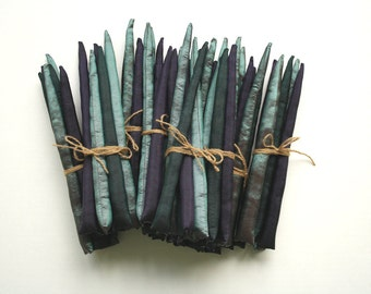 Purple Asparagus Recycled Fabric Play Food