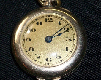 100 Year-Old, Women's Taillard Transitional Watch, 10 Jewels in good working condition