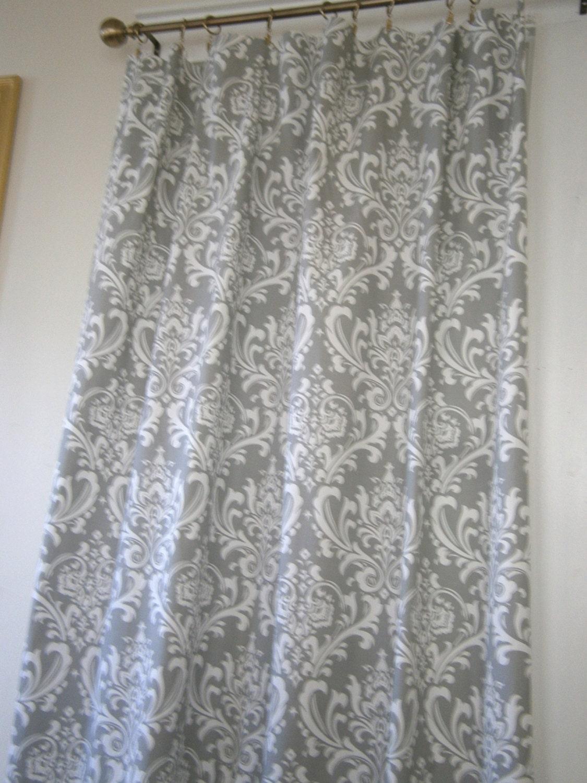 Tenda doccia tessuto ozborne damascato tempesta di - Tende per doccia in tessuto ...