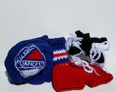 Rangers Baby Set, New York Rangers, NHL Hockey baby Uniform
