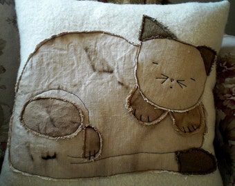 Kitty Cat Pillow