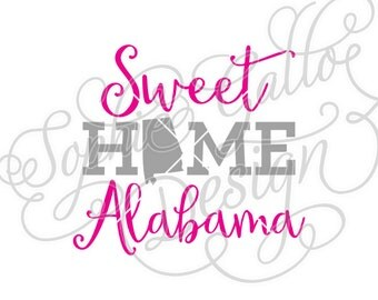 Sweet Home Alabama Etsy