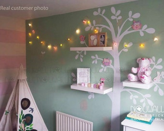 Tree Wall Sticker With Shelves - [peenmedia.com]