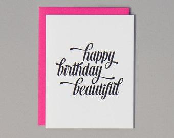 SALE. Happy Birthday Beautiful