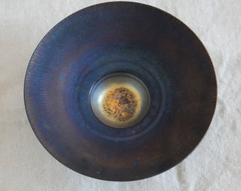 Gordon Hutchinson porcelain bowl, studio pottery, Canadian potter