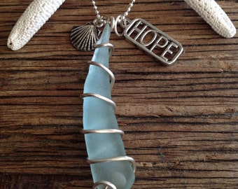 Tranquil Seas Charm Necklace