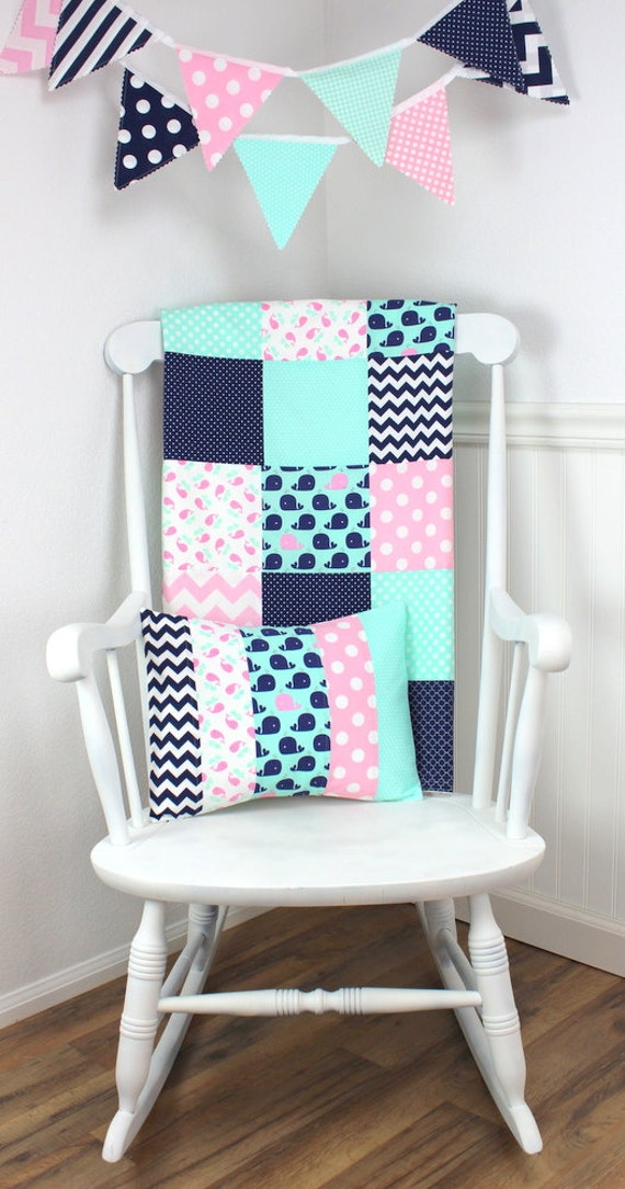 diy nautical nursery decor baby blanket minky blanket crib blanket nautical 10786