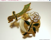 CIJ Daughters of the Nile Vintage Fraternal Pin 1920s