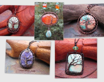 Wire Wrap Tree of Life Tutorial, Instant Digital Download, DIY, Genesis 3:24, Revelation 22 2
