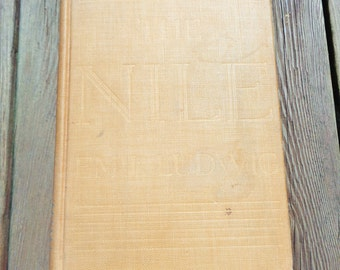 """Vintage Hardcover """"The Nile"""" By Emil Ludwig 1937"""