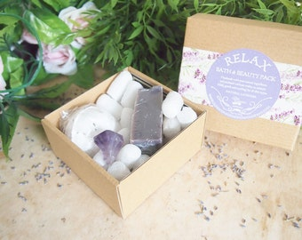 SOLD OUT Relaxing Lavender Bath Pack