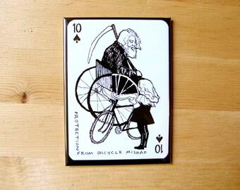 Bicycle Mishap Magnet