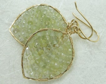 Pale green chalcedony