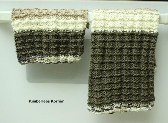 Easy Knit Dish Towel Pattern : Knitting Pattern Dish Towel Pattern Dishcloth Patterns Easy